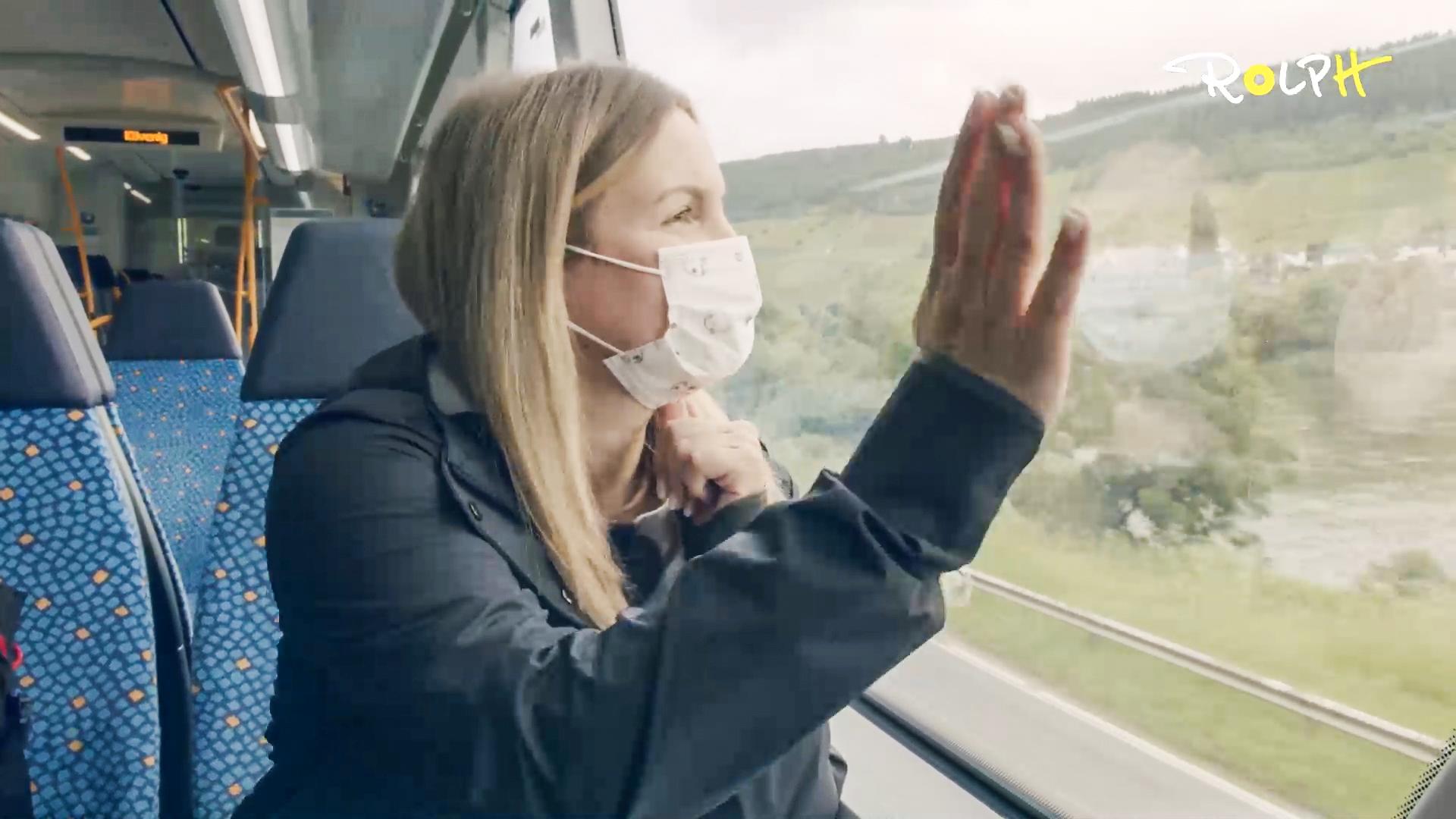 Laura läuft … fährt mit der Moselweinbahn